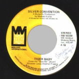 Silver Convention - Tiger Baby / Fly, Robin, Fly - 45