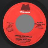 Sonny Rollins - Arroz Con Pollo / Isn't She Lovely - 45