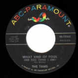 Tams - Laugh It Off / What Kind Of Fool - 45