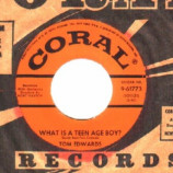 Tom Edwards - What Is A Teenage Boy / What Is A Teenage Girl - 45