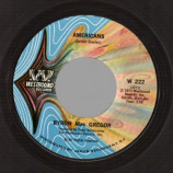 Westbound Strings / Byron Mac Gregor - America The Beautiful / The Americans - 45