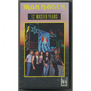 Iron Maiden - 12 Wasted Years - VHS - VHS