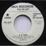 B.B. King - Rock Me Baby / I Got Some Help I Don't Need [Vinyl] - 7 Inch 45 RPM