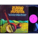 Billy Strange / Roger McGuinn / Tommy Tedesco / Mason Williams - 25 Banjo & Guitar Favorites [Vinyl] - LP