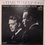 Chet Huntley & David Brinkley - A Time To Keep: 1963 - Voices And Events Of The Year [Record] - LP