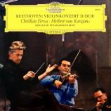 Christian Ferras / Herbert Von Karajan / The Berliner Philharmoniker - Ludwig Van Beethoven: Violinkonzert D-Dur [Vinyl] - LP