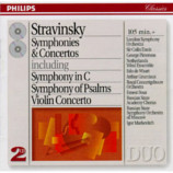 Colin Davis / Edo de Waart / Ernest Bour / Igor Markevitch - Stravinsky: Symphonies and Concertos [Audio CD] - Audio CD