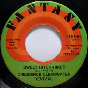 """Creedence Clearwater Revival - Sweet Hitch-Hiker / Door To Door [Vinyl] - 7 Inch 45 RPM - Vinyl - 7"""""""