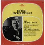 Dietrich Fischer-Dieskau - Bach: The ''Hunt'' Cantata Telemann: The ''Canary'' Cantata [Vinyl] - LP