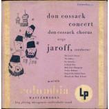 Don Cossack Chorus Serge Jaroff - Don Cossack Concert - 10 Inch 33 1/3 RPM