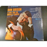 Don Gibson - I Love You So Much It Hurts [Vinyl] - LP