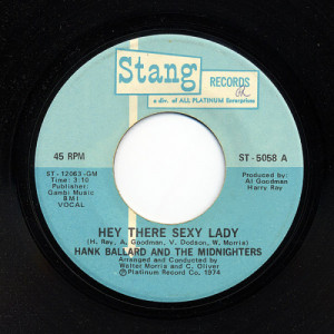 Hank Ballard And The Midnighters - Hey There Sexy Lady [Vinyl] - 7 Inch 45 RPM - Vinyl - 7""