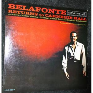Harry Belafonte - Belafonte Returns To Carnegie Hall [Vinyl] - LP - Vinyl - LP