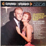 Jeanette MacDonald And Nelson Eddy - Favorites In Stereo - LP