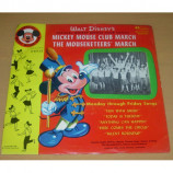 Jimmie Dodd and The Mickey Mouse Club Chorus And Orchestra - Mickey Mouse Club March - 7 Inch 45 RPM EP