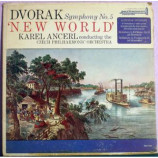Karel Ancerl The Czech Philharmonic Orchestra - Dvorak: Symphony No. 5 'New World' - LP