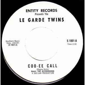 """Le Garde Twins - Coo-Ee Call / I Could Have Been Lonely (At Home) [vinyl] - 7 Inch 45 RPM - Vinyl - 7"""""""
