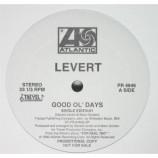 Levert - Good Ol' Days [Vinyl] - 12 Inch 33 1/3 RPM