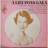 Lily Pons - A Lily Pons Gala - Favorite Operatic Selections [Vinyl] - LP
