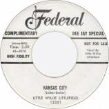 Little Willie Littlefield - Kansas City / The Midnight Hour Was Shining [Vinyl] - 7 Inch 45 RPM