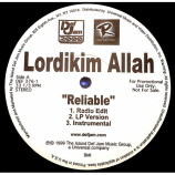 Lordikim Allah - Reliable [Record] - 12 Inch 33 1/3 RPM