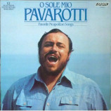 Luciano Pavarotti - O Sole Mio Pavarotti - Favorite Neapolitan Songs [Vinyl] - LP