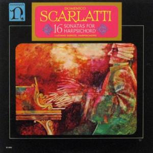 Luciano Sgrizzi - Domenico Scarlatti: 16 Sonatas For Harpsichord - LP - Vinyl - LP
