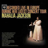 Mahalia Jackson - Recorded Live In Europe During Her Latest Concert Tour [Vinyl] - LP