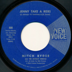 Mitch Ryder and The Detroit Wheels - Jenny Take A Ride! / Baby Jane (Mo-Mo Jane) [Vinyl] - 7 Inch 45 RPM - Vinyl - 7""