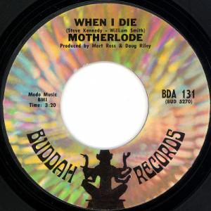 """Motherlode - When I Die / Hard Life [Vinyl] - 7 Inch 45 RPM - Vinyl - 7"""""""