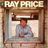 Ray Price - I Won't Mention It Again [Vinyl] - LP