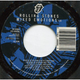 Rolling Stones - Mixed Emotions / Fancy Man Blues [Vinyl] - 7 Inch 45 RPM