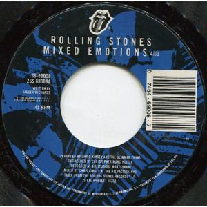 "Rolling Stones - Mixed Emotions / Fancy Man Blues [Vinyl] - 7 Inch 45 RPM - Vinyl - 7"""