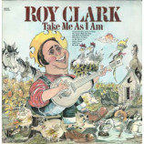 Roy Clark - Take Me As I Am - LP