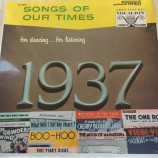 Roy Ross And His Orchestra - Songs Of Our Times - Song Hits Of 1937 [Vinyl] - LP