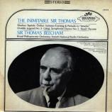 Sir Thomas Beecham Conducting The Royal Philharmonic Orchestra - The Inimitable Sir Thomas - LP
