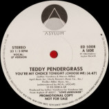 Teddy Pendergrass - You're My Choice Tonight (Choose Me) [Vinyl] - 12 Inch 33 1/3 RPM
