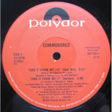 The Commodores - Take It From Me [Vinyl] - 12 Inch 33 1/3 RPM