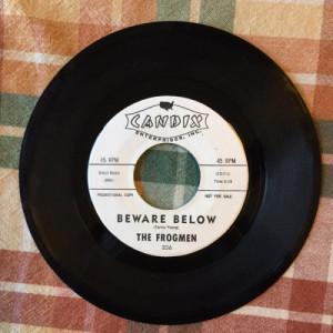 """The Frogmen - Beware Below / Tioga (Swift Waters) - 7 Inch 45 RPM - Vinyl - 7"""""""