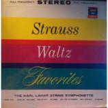 The Karl Lahar String Symphonette - Strauss Waltz Favorites - LP