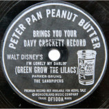 The Sandpipers - Peter Pan Peanut Butter Brings You Your Davy Crockett Record [Vinyl] - 7 Inch 78