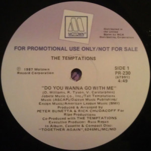 The Temptations - Do You Wanna Go With Me [Vinyl] - LP - Vinyl - LP