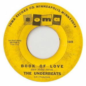 "The Underbeats - Book Of Love / Darling Lorraine [Vinyl] - 7 Inch 45 RPM - Vinyl - 7"""