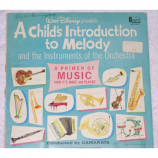 Walt Disney - A Child's Introduction to Melody and Instruments of the Orchestra [LP] - LP