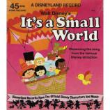 Walt Disney - It's A Small World [Vinyl Record] - 7 Inch 33 1/3 RPM