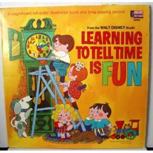 Walt Disney - Learning to Tell Time is Fun [Vinyl] - LP - Vinyl - LP