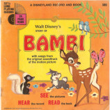 Walt Disney - Walt Disney's Story of Bambi With Songs From The Original Soundtrack of The Moti