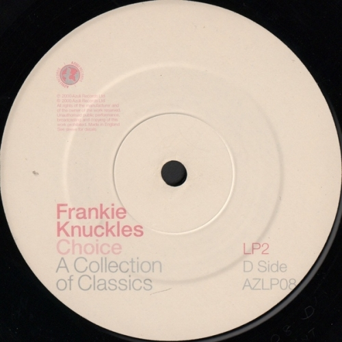 Various - Frankie Knuckles – Choice - A Collection Of Classics - Vinyl Record - 4 x LP
