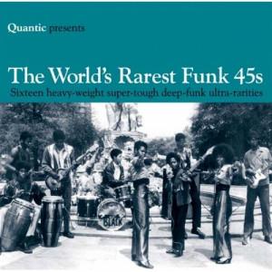 Various - Quantic Presents The World's Rarest Funk 45s - CD - Compilation