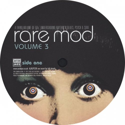 Various - Rare Mod Volume 3 - Vinyl - LP
